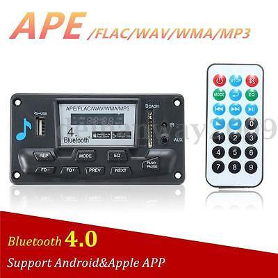 Digital Bluetooth 4.0 Audio Receiver APE FLAC WMA WAV MP3 Decoder Board FM Radio