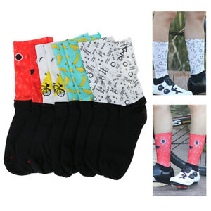 High-Tech-Material-Anti-Slip-Bicycle-Socks-Running-Camping-Compression-Socks-gt