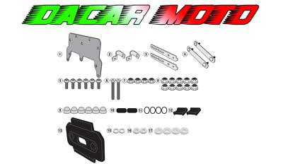 Protezione Motore Honda CB 500 F 13-18 nero Cilindro