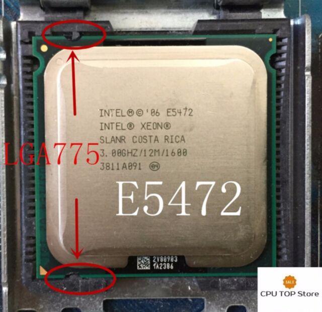 Intel Xeon E5472 3GHz 12M 1600MHz FSB SLBBH LGA771 CPU Processor