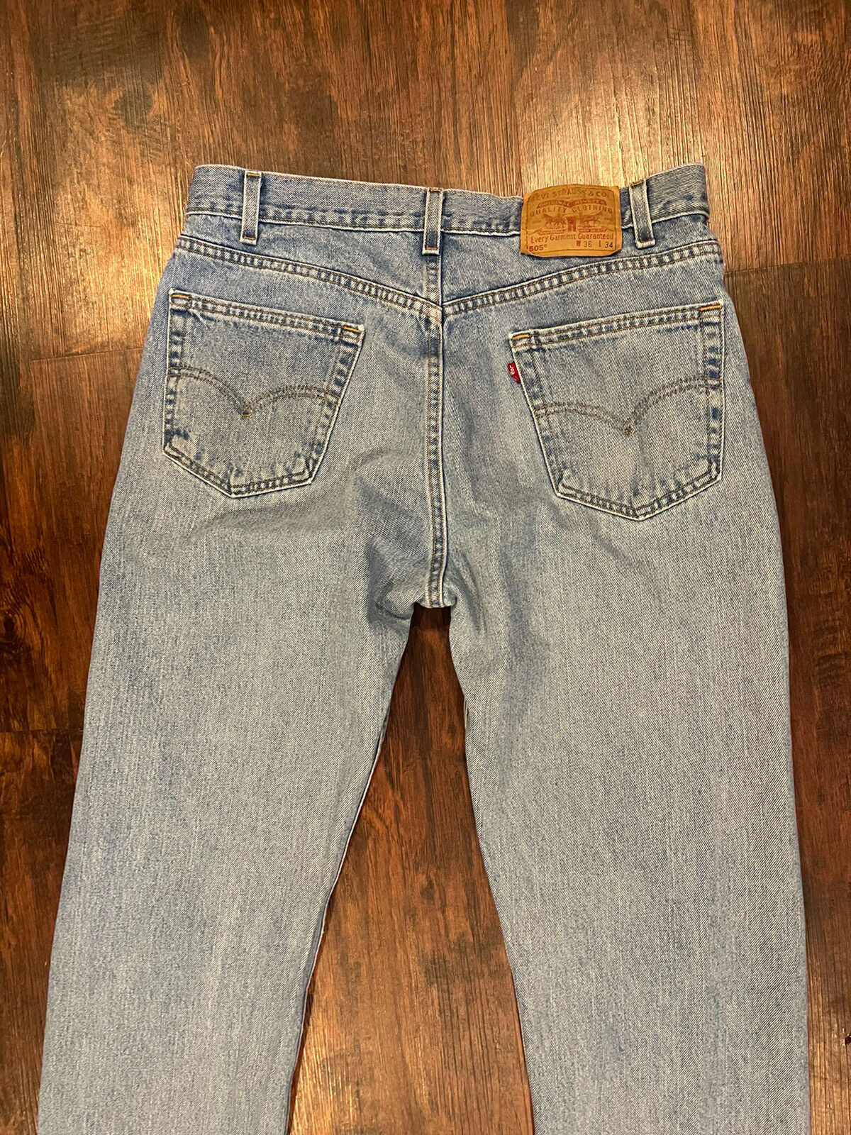 vintage levis 505 made in usa 36x34 - image 3