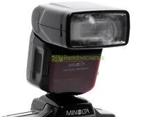 Minolta flash 3500xi wireless TTL per Minolta Dynax a pellicola. N° guida 35.