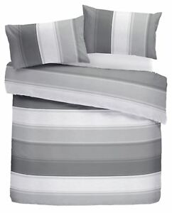 CLASSIC-WIDE-STRIPE-GREY-WHITE-COTTON-BLEND-DOUBLE-DUVET-COVER