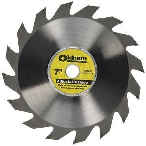 Oldham 7005012 adjustable carbide dado blade 7 ebay stock photo greentooth Image collections