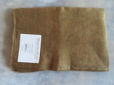 10/% Off Weeks Dye Works 30 count Hand-dyed Linen Gold