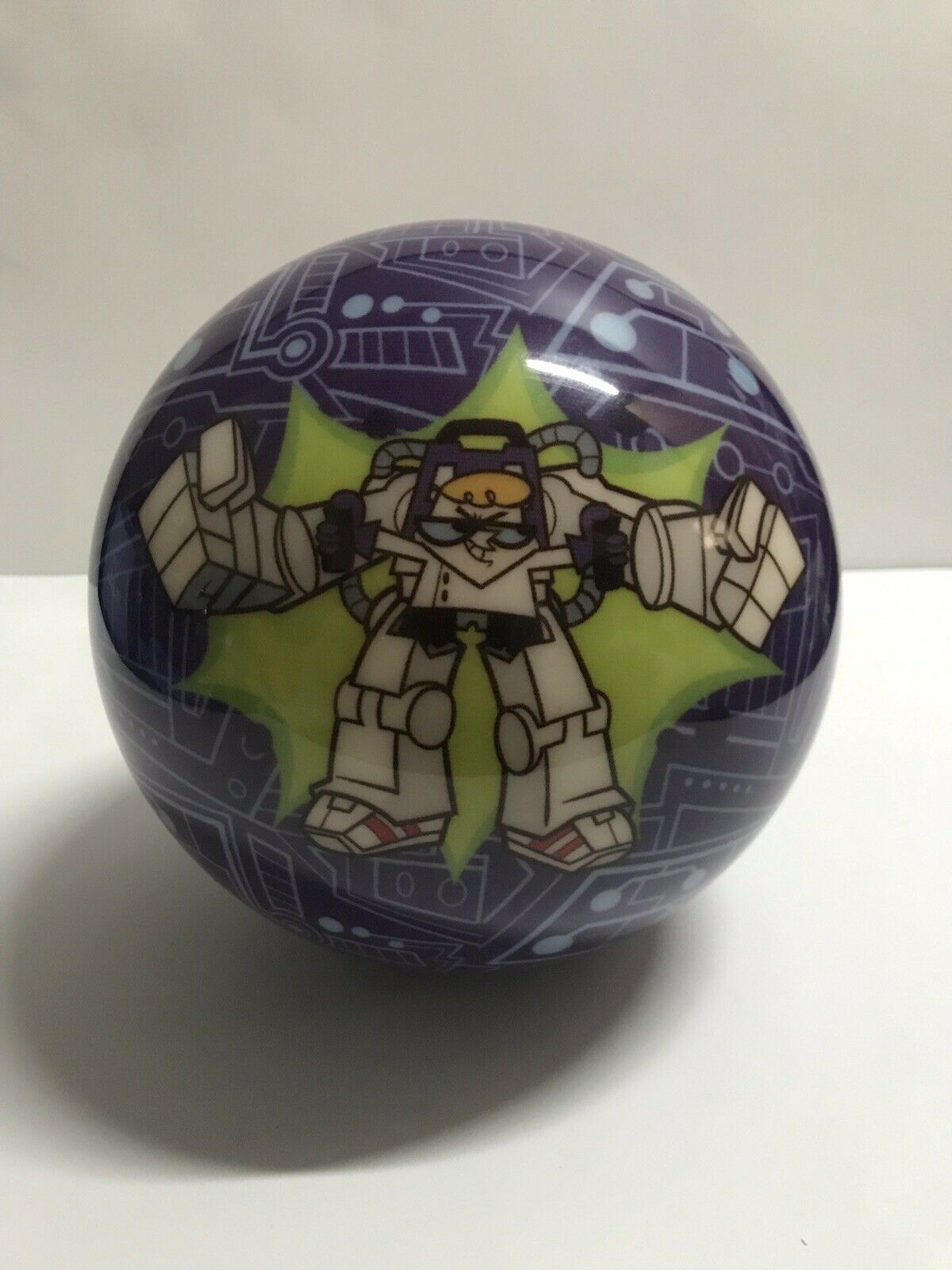 """VINTAGE NOS Cartoon Network Dexter's Laboratory Bowling Ball   Undrilled"""""""