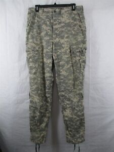 ACU Pants//Trousers Large Regular USGI Digital Camo Flame Resistant FRACU Army