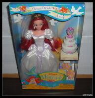 Barbie 1997 Mattel Disney The Little Mermaid Ocean Bride Ariel Doll