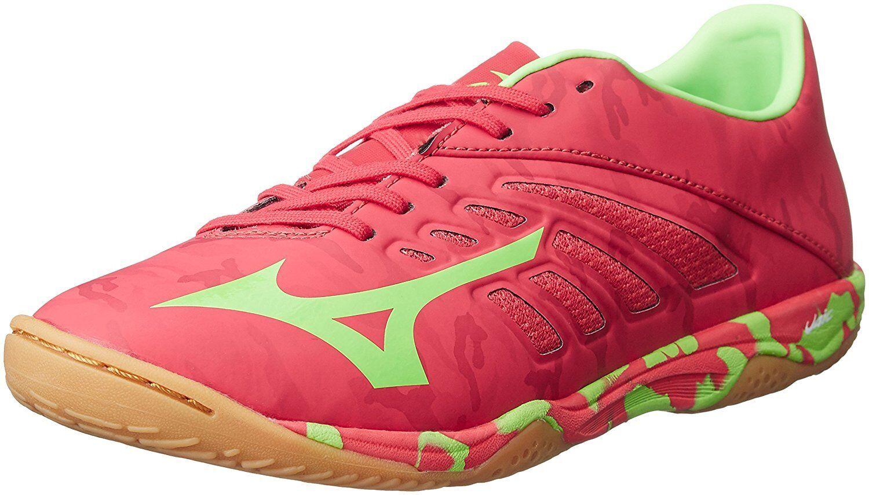 Zapatos DE FUTSAL FÚTBOL FÚTBOL Mizuno Basara 101 Sala Q1GA1730 Rojo US7 (25 Cm)