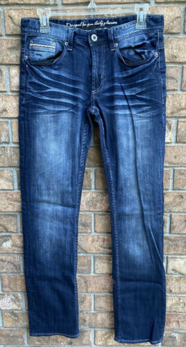 i Jeans by Buffalo Mens 29 x 32 Blue Jeans Spence