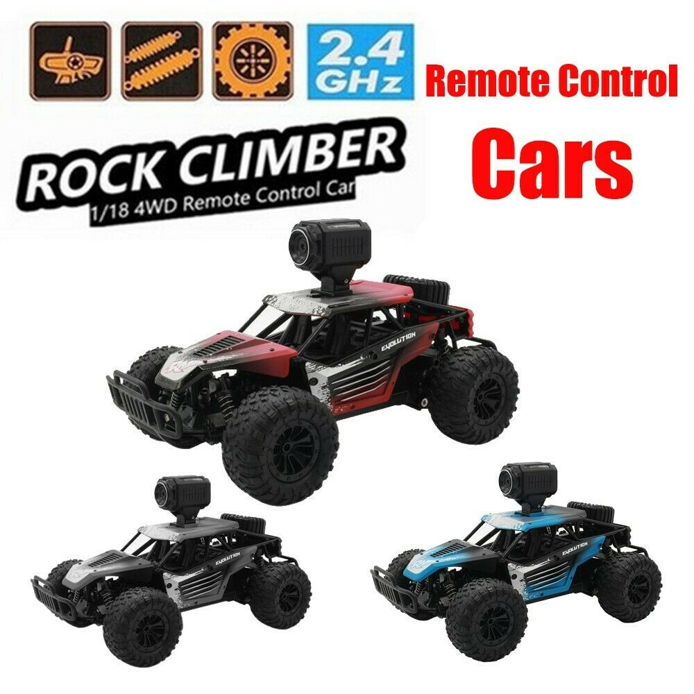 Remote Control RC Cars 1 18 2.4G 25km H Independent Suspension Off Road Crawlers