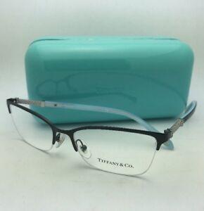 779ce8d6b4 TIFFANY   CO. Eyeglasses TF 1111-B 6097 53-17 140 Black   Blue Frame ...