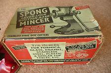 Vintage Boxed Spong & Co Ltd  Mincer