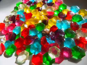 Edible-Diamond-HEXAGON-Jewels-cake-topper-isomalt-decoration