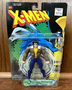Civilian Wolverine Vintage X-Men Action Figure New 1998 Toybiz 90s Marvel Logan