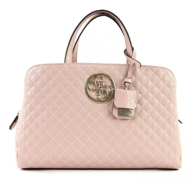 ed430c78151 GUESS Gioia Girlfriend Satchel Rosa Women s Handbag Strap Bag for ...