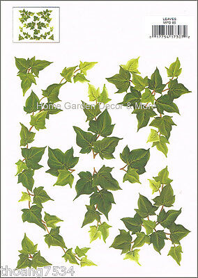 Instant Stencils//Instant Etchings Ivy