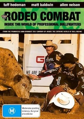 Rodeo Combat NEW/SEALED (DVD, 2008) RODEO Sports Extreme [Region 4]