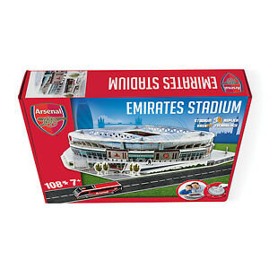Paul Lamond Games - Arsenal Emirates Stadium 3D Boxed Puzzle