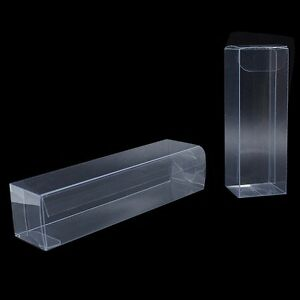 369a7acabfd Clear PVC Plastic Folding Packaging Box for Gift Party Favor Candy ...