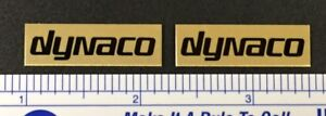 Dynaco Speaker Badge Logo Emblem Custom Aluminum Free Shipping