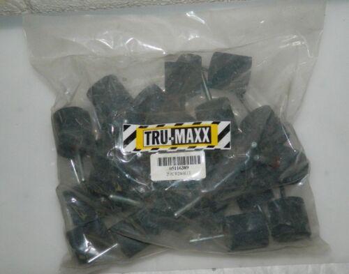 "Tru-Maxx Aluminum Oxide Mounted Point 1-1//2 x 1-1//2/"" QTY 25  W238"