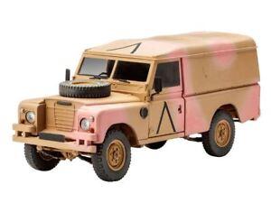 Revell-1-3-5-Britanico-Land-Rover-4x4-todoterreno-109-Lwb-Kit-de-modelismo
