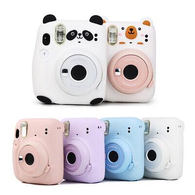For Fujifilm Instax Mini 11 Film Camera Soft Silicone Bag Shell Case Carry Cover