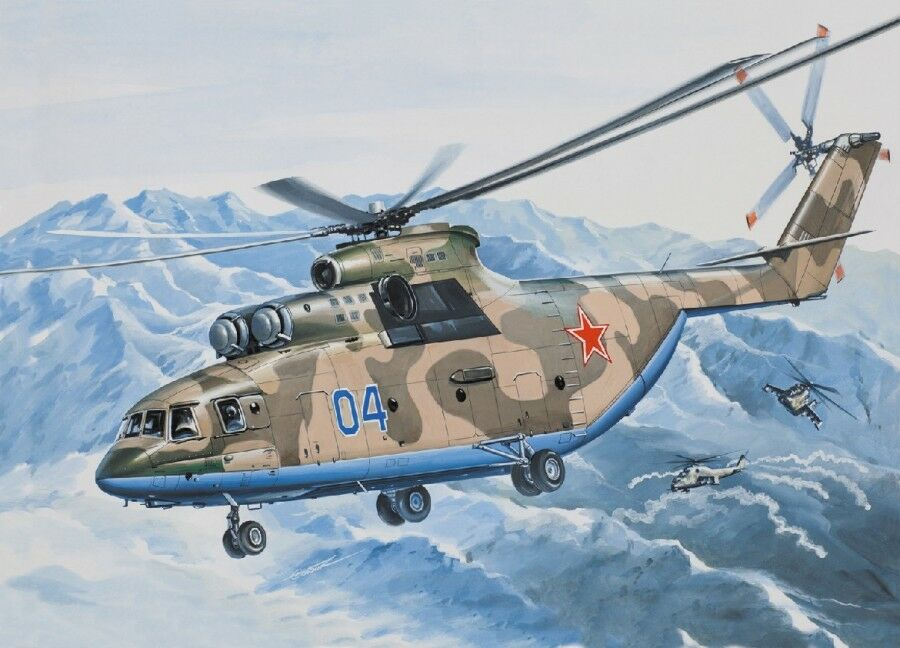 1 144 Eastern Express Mi-26 Heavy Helicopter Model Kit 144502