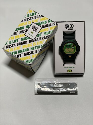 Casio G-Shock X Nesta collaboration DW6900 Lion Trade Mark 2011 BRAND NEW