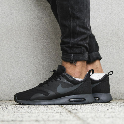 Nike Nike Nike Air Max Tavas 705149-010 Black Sportswear Running shoes Sz 11.5 5b9740