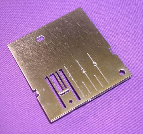 Placa de la aguja se ajusta Pfaff Máquinas de Coser 1010-6070 #93-038909-35 #98-694820-00