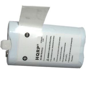HQRP-2100mAh-Rechargeable-Pack-Batterie-Pour-Clapet-Video-Ultra-Series-Camescope