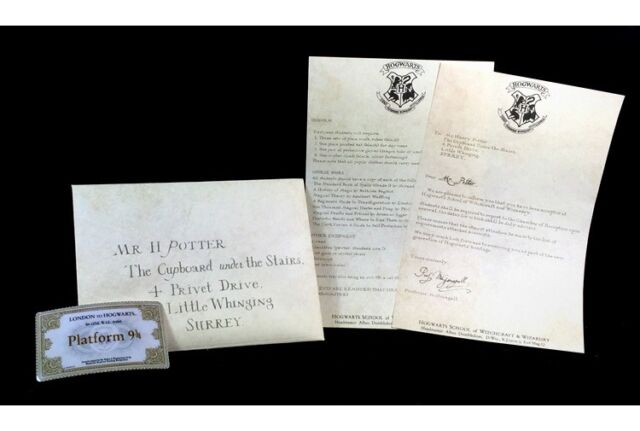harry potter letters acceptance letter harry potter hogwarts envelope 22097 | s l640