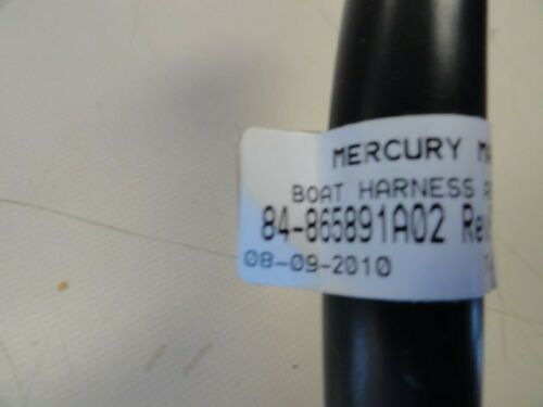 MERCURY 84-865891A02 HARNESS ASSEMBLY  FUEL PADDLE WHEEL OIL MARINE BOAT