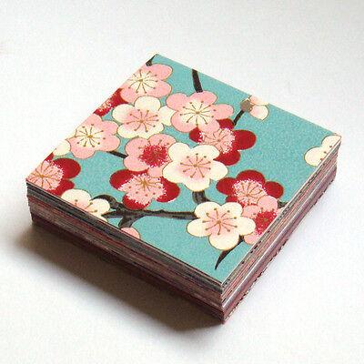 Japanese Yuzen Washi Origami Paper 6cm (2.36inch) / 100sheets