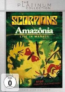 SCORPIONS - AMAZONIA: LIVE IN THE JUNGLE  DVD CLASSIC HARD ROCK & POP NEUF