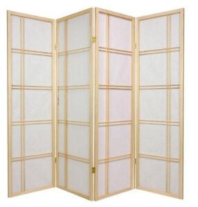 Brand New 4 Panel Multifunction PAPER SHOJI Screen Room