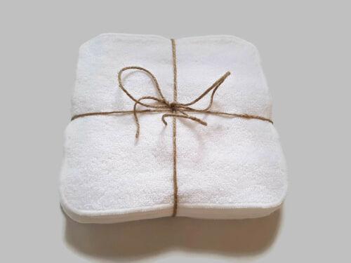 Toallitas bebé Bambú//Algodón De Lujo 12 paquete por muslinz 20x20cm