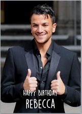 Peter andre birthday card images birthday cards ideas personalised peter andre birthday card ebay item 5 peter andre birthday card a5 personalised with own bookmarktalkfo Image collections
