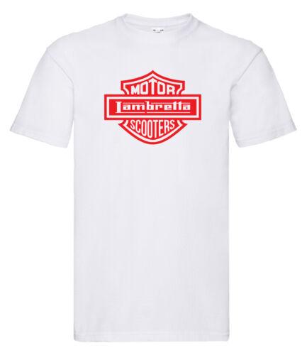 Lambretta motor Scooters Camiseta Navidad//Scooter//para él//presentes//Regalo//Cumpleaños