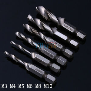 M3-M4-M5-M6-M8-M10-Hexagon-Handle-Compound-Hand-Screw-Spiral-Tap-Taper-Drill-Bit