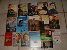 Lot 16 Amish Romance Books 23 Titles Lewis, Lauer, Wiseman, Long & More