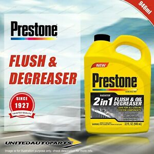 Prestone Radiator Flush Oil Degreaser 946ml AS110Y Premium Quality