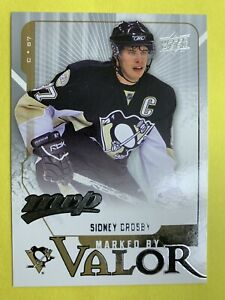 2008-09-Upper-Deck-NHL-MVP-Marked-By-Valor-MV7-Sidney-Crosby-Pittsburgh-Pens