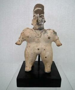 Antique-Pre-Columbian-Jalisco-Polychrome-Ceramic-Female-Figure-200-BC-200-AD