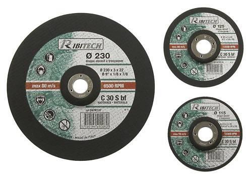 DISQUE CD A TRONCONNER MATERIAUX LOT X50  Ø115x3,2x22,2 - PRDATM115