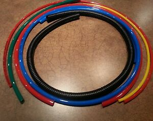 Tubing-Red-blue-yellow-green-1-4-split-loom-Ghostbusters-Proton-Pack-Prop