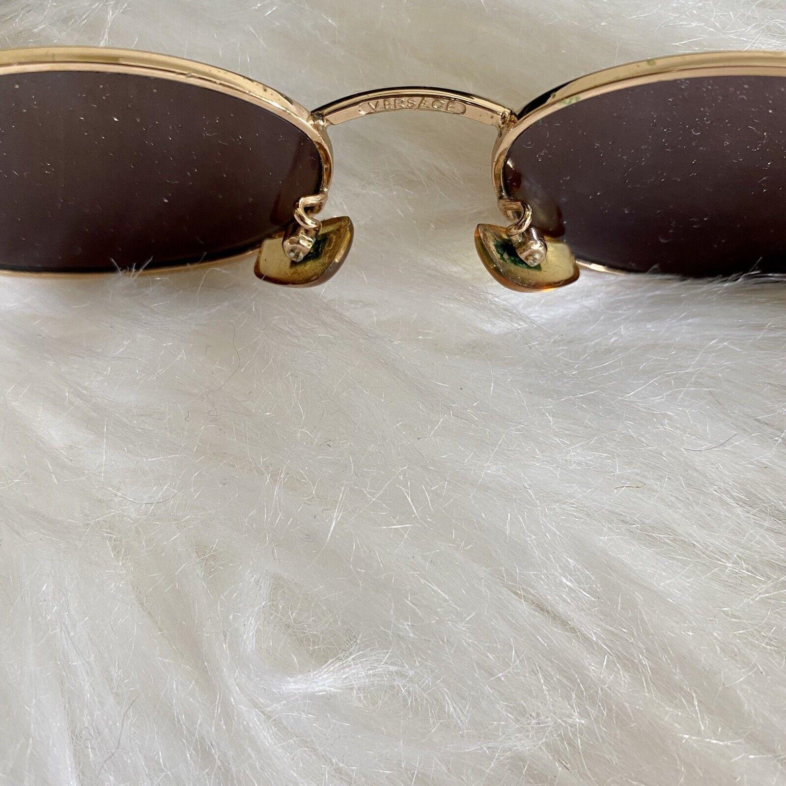 Vintage Gianni Versace Mod H35 COL 030 sunglasses - image 5