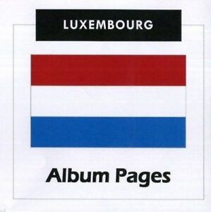 Luxembourg-CD-Rom-Stamp-Album-1852-2017-Color-Illustrated-Album-Pages